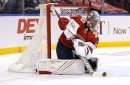 After splashy start, Panthers' goalie Knight preps for training camp