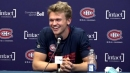 Swedish prospect Norlinder shows off his French vocab at Habs rookie camp