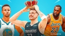 Mavs' Luka Doncic claims top spot in West in early MVP predictions over LeBron James, Stephen Curry