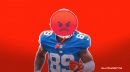 Giants rookie Kadarius Toney already loudly pissed off about his role