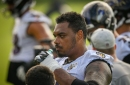 Ravens LT Ronnie Stanley not expected to play vs. Chiefs; WR Marquise Brown returns to practice