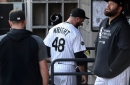 Chicago White Sox reliever Mike Wright Jr. is suspended for 3 games for throwing at Los Angeles Angels DH Shohei Ohtani, and manager Tony La Russa serves an automatic 1-game ban
