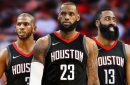 What if LeBron James signed with the Rockets in 2018?