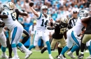 Sam Darnold throws two touchdowns, Christian McCaffrey adds a rushing score in Panthers' win over Saints