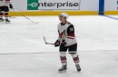 First-round pick Dylan Guenther scores again for Coyotes in second rookie prospects game