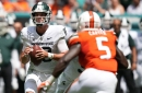 Michigan State's Payton Thorne named Big Ten's co-offensive player of the week