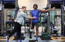 Memphis Tigers Basketball's new strength coach takes team to the gym
