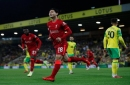 Result: Takumi Minamino scores twice as Liverpool clip Canaries' wings in Carabao Cup
