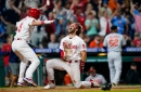 In duel of bullpens, Phillies walk off Orioles, 3-2, on J.T. Realmuto's 10th-inning triple