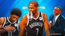 Nets star Kevin Durant's 1-word reaction to Isiah Thomas' Kyrie Irving take