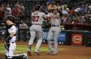 Braves slug three more homers in a 6-1 win over the Diamondbacks