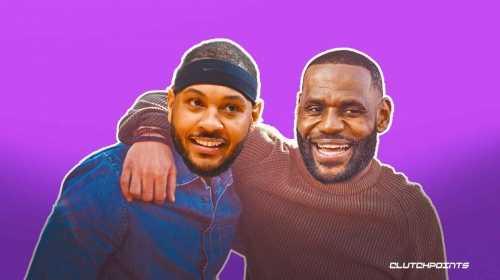 LeBron James 'forced' Carmelo Anthony's hand in joining Lakers