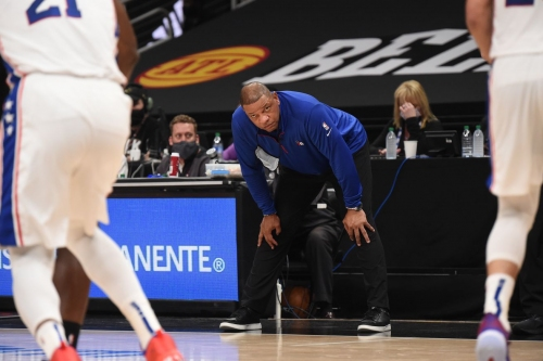 Doc Rivers' appearance on First Take was ... something
