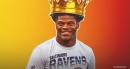 Ravens QB Lamar Jackson responds to front flip celebration against Chiefs