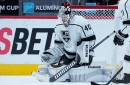 Kings sign goalie Cal Petersen to 3-year extension