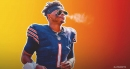 Bears QB Justin Fields reacts to getting first NFL start vs. Browns