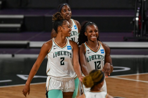 Michaela Onyenwere named AP Rookie of the Year; Didi Richards named to All-Rookie team