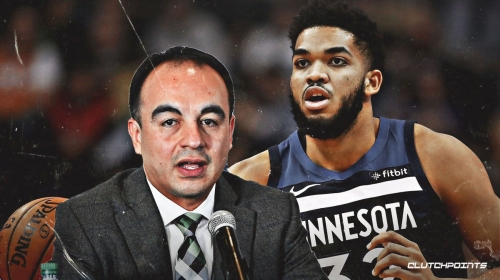 Karl-Anthony Towns reacts to Gersson Rosas' stunning firing from Timberwolves