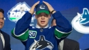Green and Canucks excited to get a look at top prospect Podkolzin