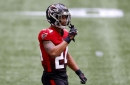 Falcons injury report: A.J. Terrell, Russell Gage absent from Wednesday's practice