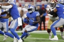 Notes: D'Andre Swift could get more involved in the Lions' passing game