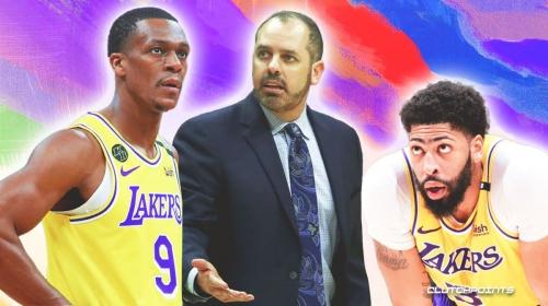 Anthony Davis, Rajon Rondo's roles for Lakers this season, per Frank Vogel