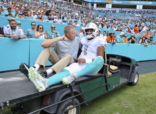 Hyde: Tua Tagovailoa + broken ribs = many questions for Dolphins   Commentary