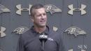 Ravens' John Harbaugh prepares for Lions   VIDEO