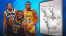 Magic Johnson gives different praise for Nets star Kevin Durant after calling LeBron James 'greatest today'