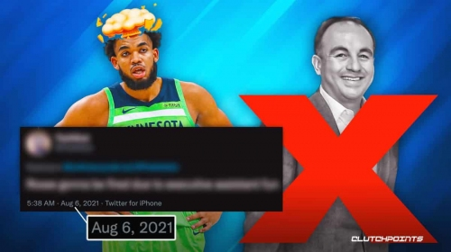 RUMOR: Twitter user called Timberwolves GM Gersson Rosas firing a month ago with insane theory