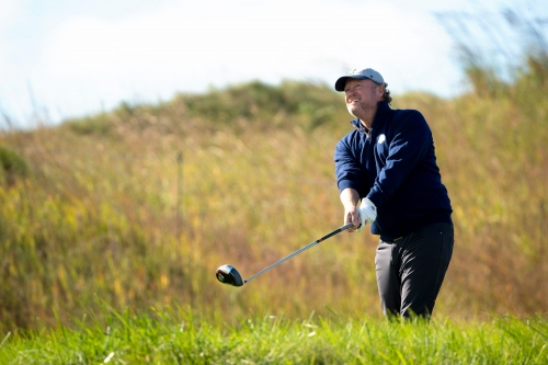 Milwaukee Bucks coach Mike Budenholzer feels the spirit, and the love, at the Ryder Cup