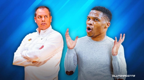 Russell Westbrook is in a 'desperate' state, claims Lakers coach Frank Vogel