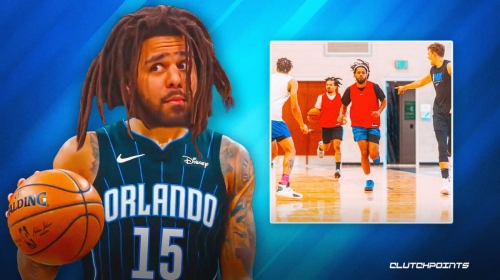 WATCH: J. Cole caught working out with Cole Anthony, Orlando Magic stars