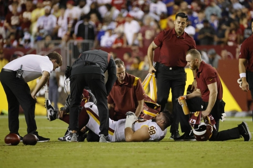 Washington Football Team vs Buffalo Bills Wednesday Injury Report