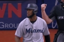 MIA 0, TBR 8; Sandy León pitched (again)