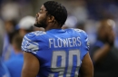 Lions Week 3 inactives: Jamie Collins, Trey Flowers OUT vs. Ravens