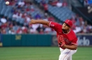 Jaime Barria's up and down season with Angels ends with shoulder injury