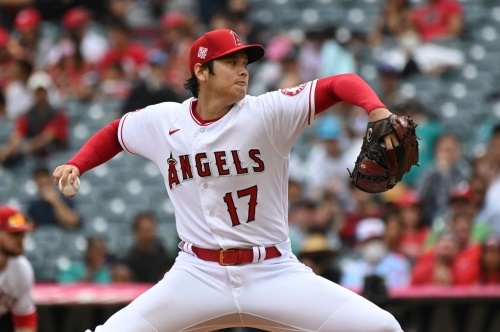 Shohei Ohtani pitches well but Angels lose in final home game of the season