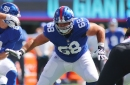 Film study: Giants' Ben Bredeson has shown some good, some bad in first three weeks