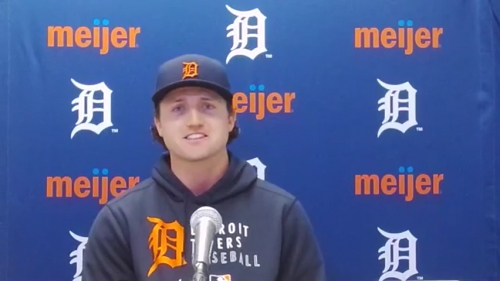 Detroit Tigers' Casey Mize wants to 'lead our team in innings' every season