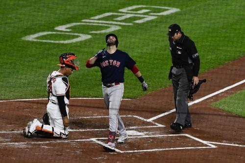 Daily Red Sox Links: J.D. Martinez, Nathan Eovaldi, Nick Pivetta