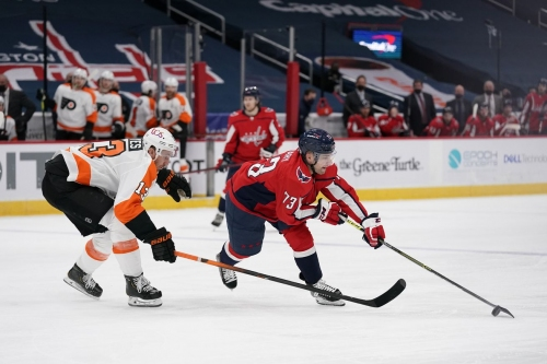 Flyers look to pick up first preseason win over Capitals