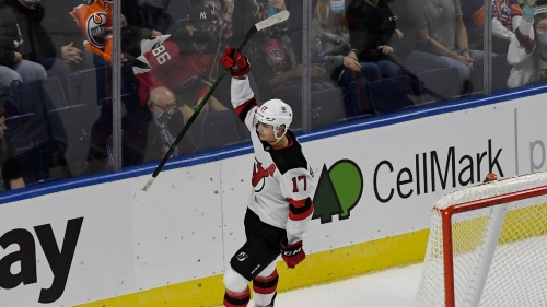 NHL Roundup: Yegor Sharangovich scores in OT, Devils beat Islanders
