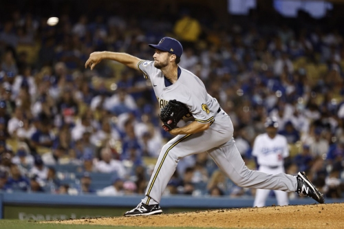 Brewers Surrender to Dodgers, 8-3