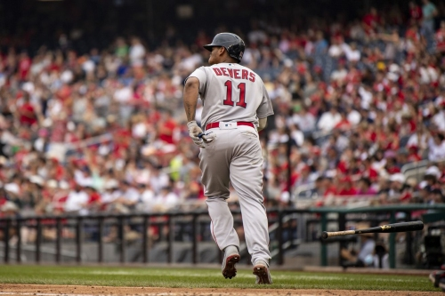 Red Sox 7, Nationals 5: Rafael Devers sends the Sox to the postseason