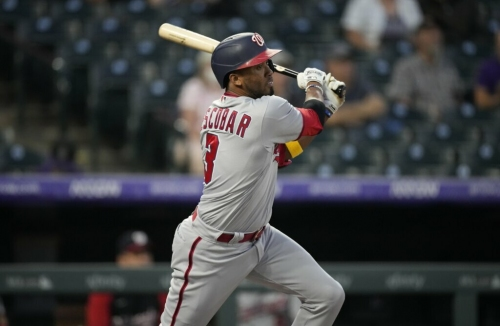 Alcides Escobar re-signs with Washington Nationals for 2022