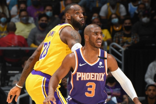Preseason Game Preview: Lakers visit Suns in matinee