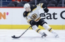 Who's playing for the Bruins tonight against the Capitals?