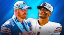 Bears QB Justin Fields reveals Andy Dalton's reaction to finding out he got benched