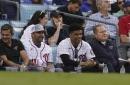 Juan Soto dons Trea Turner jersey for Dodgers-Cardinals NL Wild Card Game